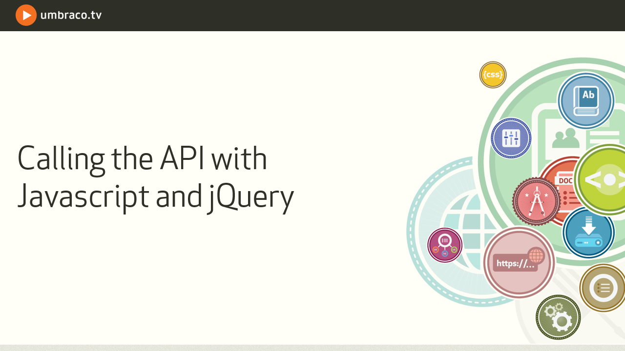 Calling the API with Javascript and jQuery
